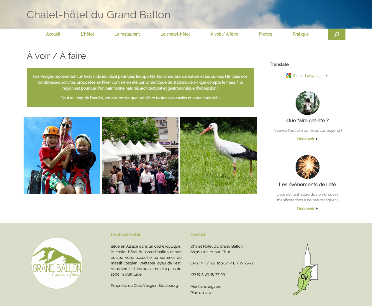 Grand Ballon (A voir/A Faire)