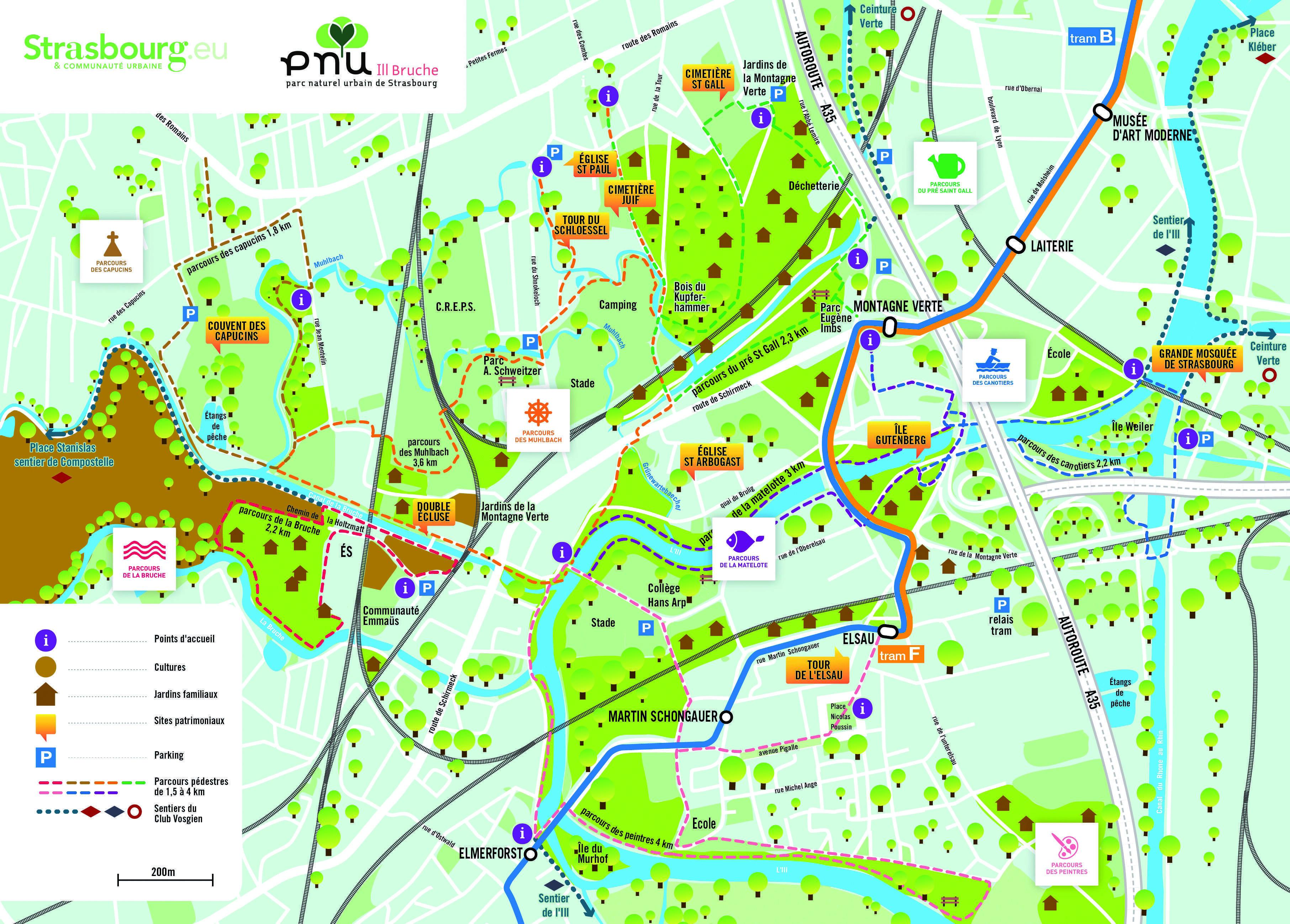 Carte du PNU III Bruche