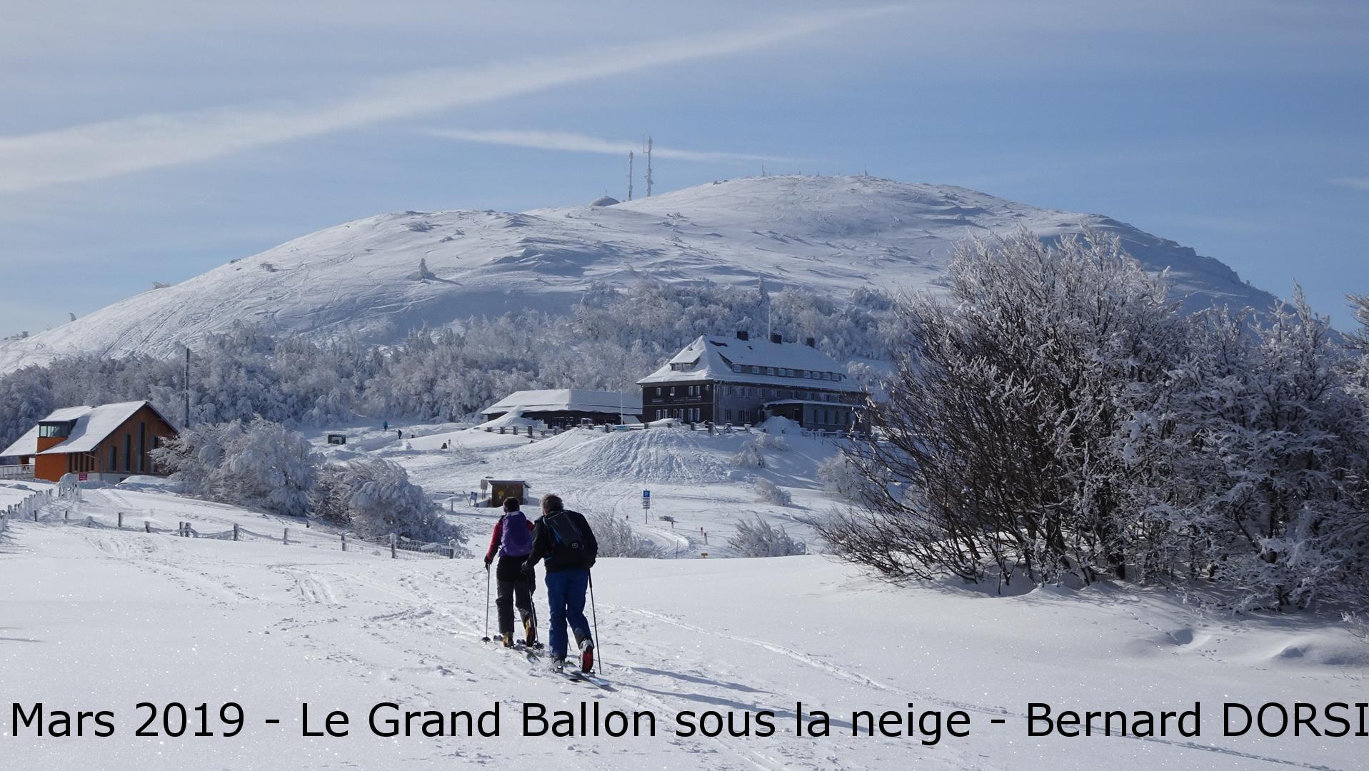 Mars 2019-Le Gtand ballon sous la neige-Bernard DORSI